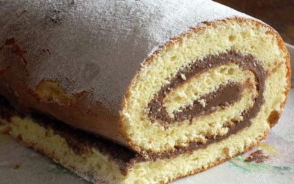 Recette - Gâteau roulé au Nutella   750g