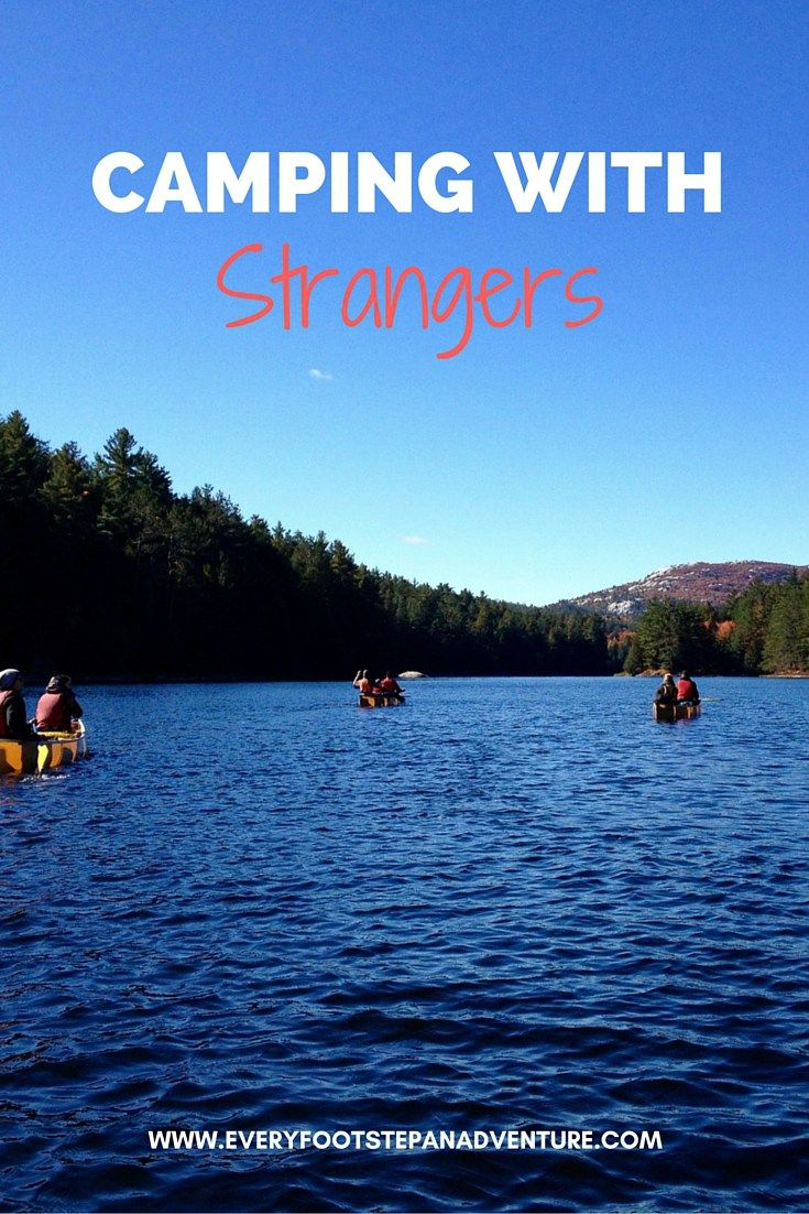 Camping With Strangers Overcoming Shyness And Embracing