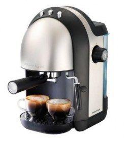 Macchina per il caffè espresso Morphy Richards Meno 47580 - Macchina per il caffè espresso a pompa. Cappuccinatore a vapore per una schiuma densa e abbondante.