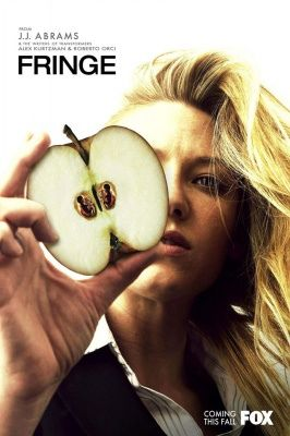 There are babies in that apple.  Fringe TV Show Poster.