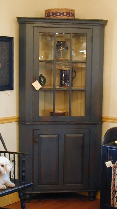 perfect corner piece for our dinning area - Top 25+ Best Corner Hutch Ideas On Pinterest Dining Room Corner