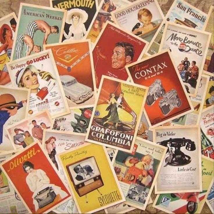 Kaarten set Vintage style 2 - Postpapier enzo