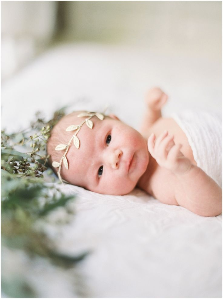 Lifestyle newborn film session film newborn session newborn flower crown www juliepaisley