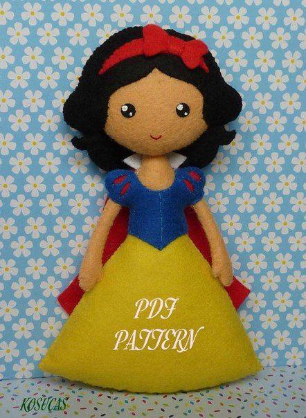 princesas disney de fieltro patrones03