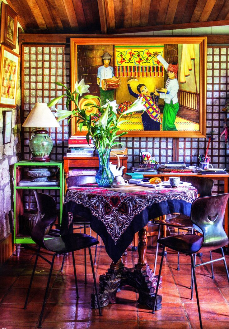 1000 images about mexican clay folk arts and housewares for Filipino inspired interior design
