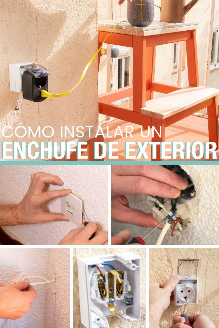 Como Instalar Un Enchufe De Exterior Handfie Diy Enchufe Enchufe Electrico Instalacion Electrica