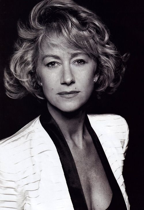 Helen Mirren, photographed by David Bailey for Vogue UK, December 1992.