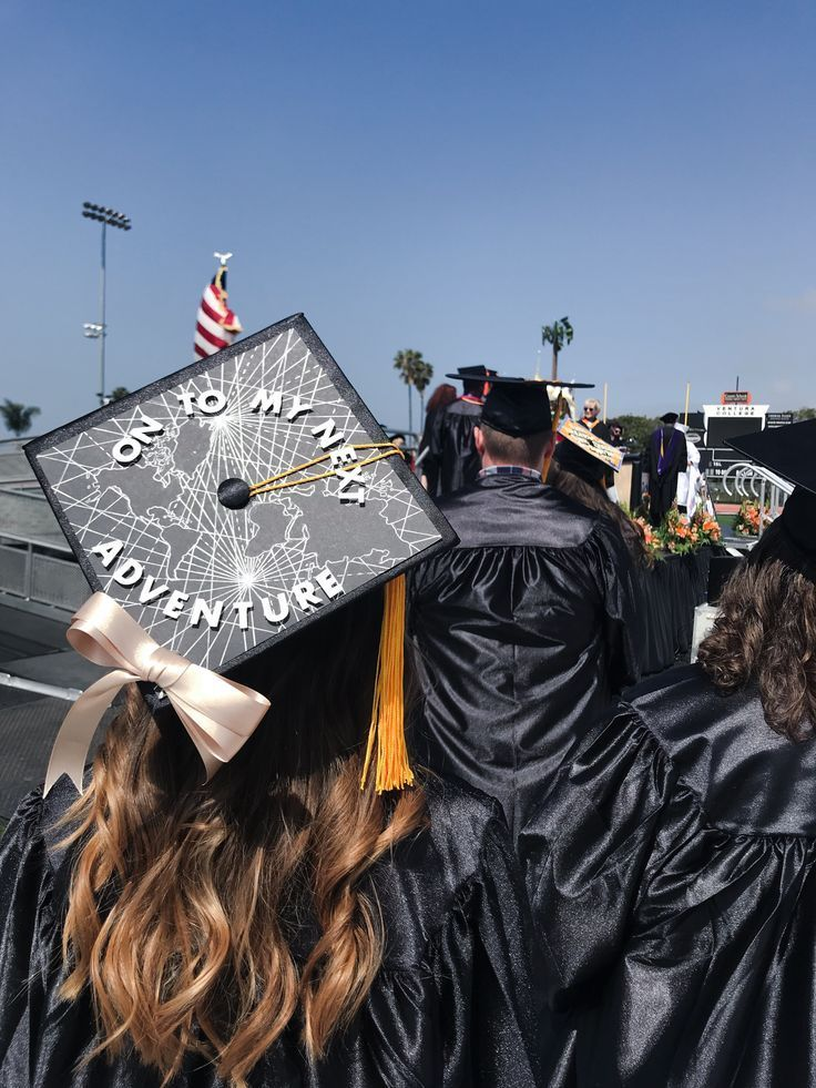 On to my next adventure, # Graduation Cap Decoration is super easy. Ready to travel - #adventure #Decoration #graduation #ready #super