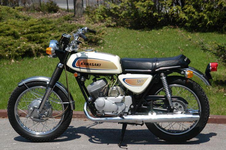 1971 Kawasaki 350 Avenger Vintage Motorcycle Poster 24x36 | eBay