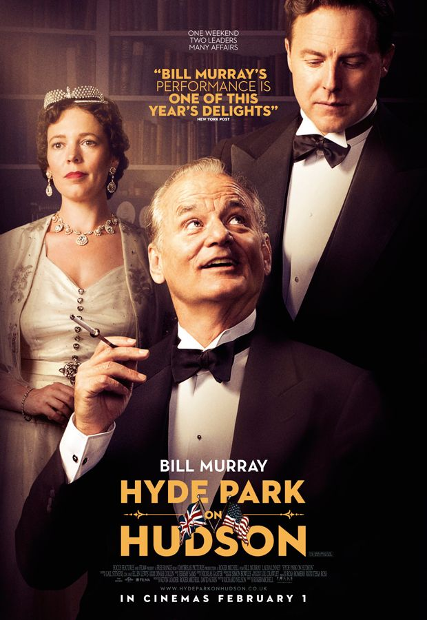 Hyde Park on Hudson by Roger Michell (2012)