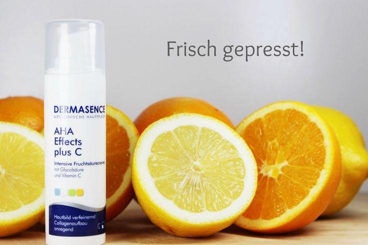 Die Dermasence AHA Effects Plus C Fruchtsäurecreme bringt uns das AHA Erlebnis nach Hause. 8% Glykolsäure plus 2% Vitamin C mit saurem pH-Wert 3.2 für...
