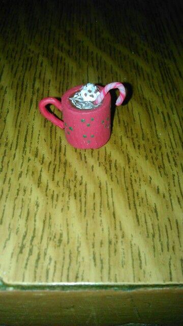 Miniature christmas hot chocolate:)