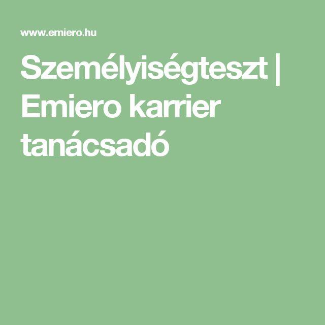 Személyiségteszt | Emiero karrier tanácsadó