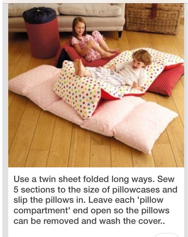 DIY comfy nap mats