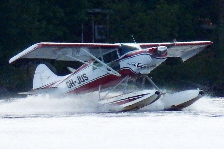 Seaplanes in Kuopio, Finland.