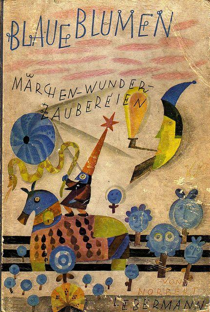 BLAUE BLUMEN (1927) - Lindner? (arthurvankruining, via Flickr)