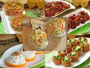 Altın Günleri ve Beş Çayları İçin İkramlık Salata Tarifleri Resimli Tarifi - Yemek Tarifleri