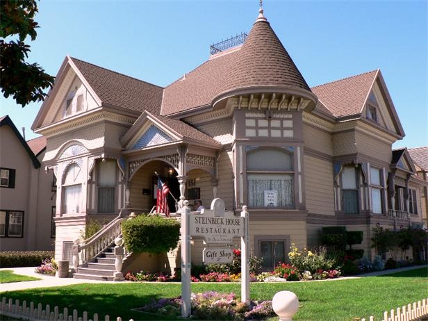 This Queen Anne style Victorian was the birthplace and boyhood home of author John Steinbeck, built in Salinas, Calif., in 1897.