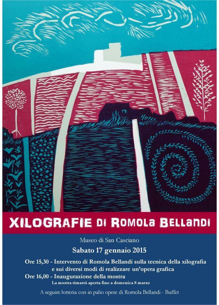 Mostra di Arte Contemporanea delle Xilograzie di Romola Bellandi