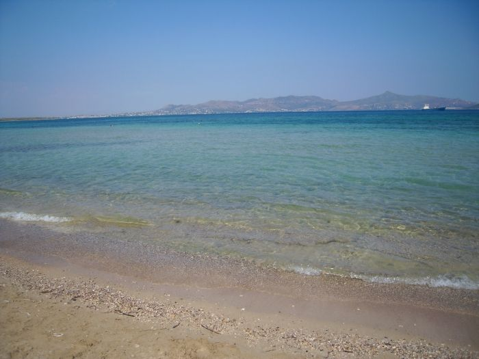 Crystal water in Skala beach