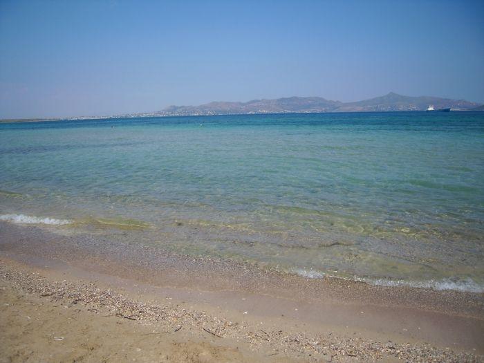Crystal water in Skala beach