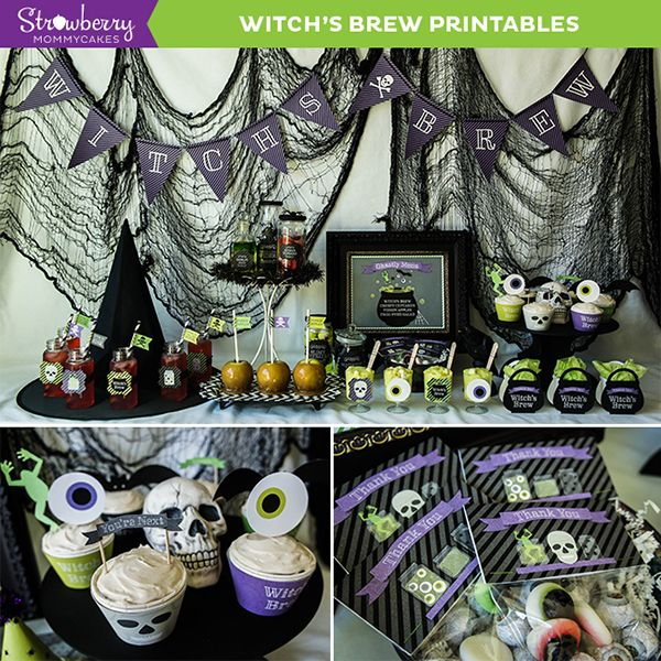 The Witch Themed Party: 1000+ Images About Mygrafico Party Impressions On