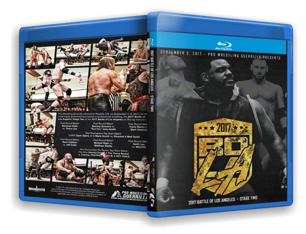 Pro Wrestling Guerrilla - Battle of Los Angeles 2017 Stage Two Blu-Ray