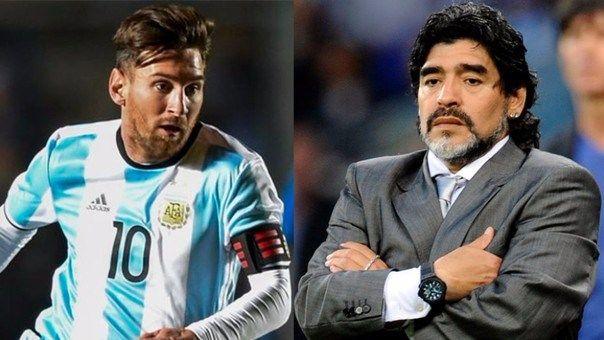 Maradona critica las idas y venidas de Messi con la selección argentina