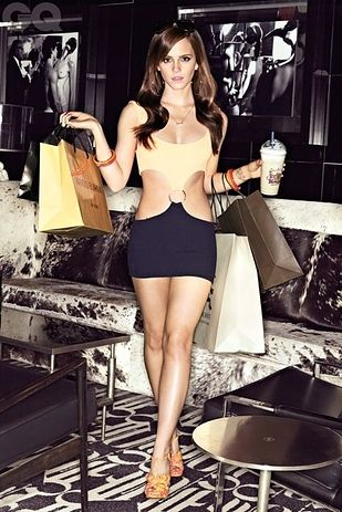 My goal body- haha, not gonna happen! | The 28 Most Flawless Emma Watson Moments Of 2013