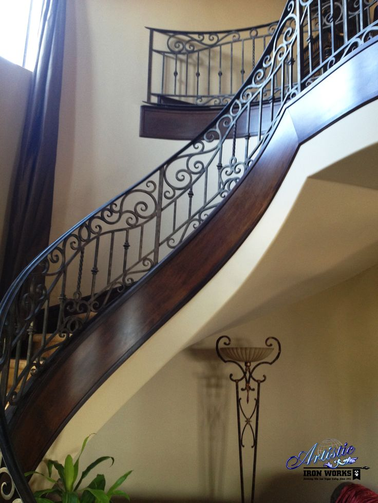 32 Best Wrought Iron Railings Images On Pinterest Wrought Iron Railings Interior Railings And