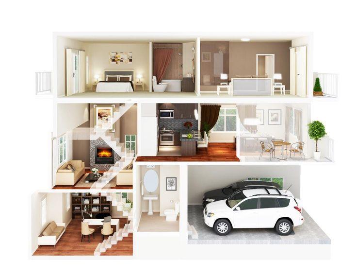 Real Estate 3D Rendering | Blueprint Effects