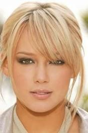 hilary duff. love these bangs