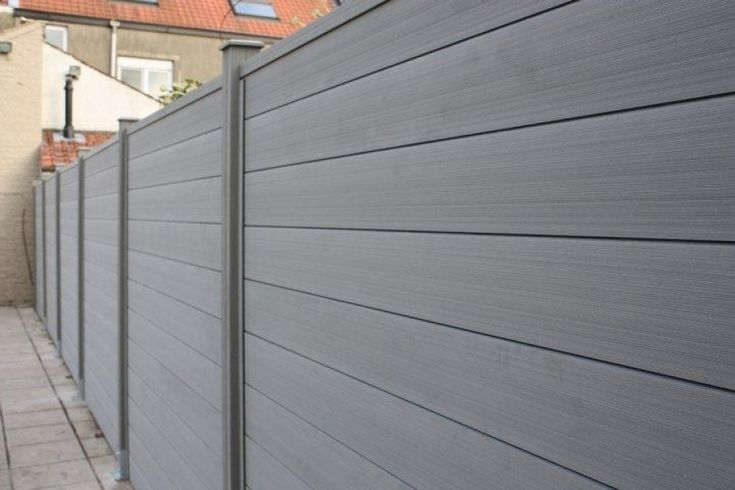 a Fence made of wood plastic composite price