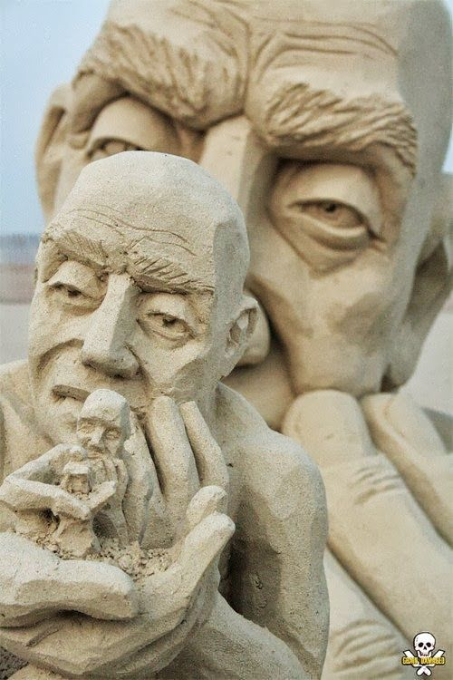 design-dautore.com: Sand Sculpture by Carl Jara