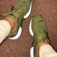 """""""NIKE"""" Air Presto Women Men Fashion Running Sport Casual Shoes Sneakers yellow …   – Moda de ropa"""