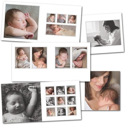 photoshop templates for photography album layout