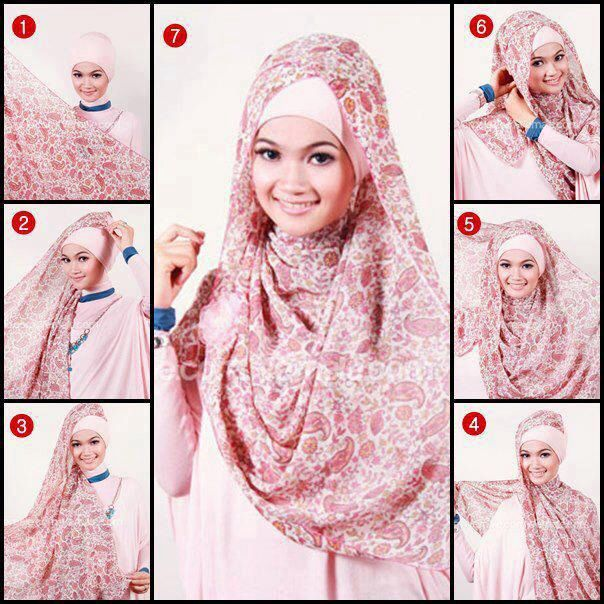 This would be perfect for those really long and wide hijabs! I'm definitely going to try this!