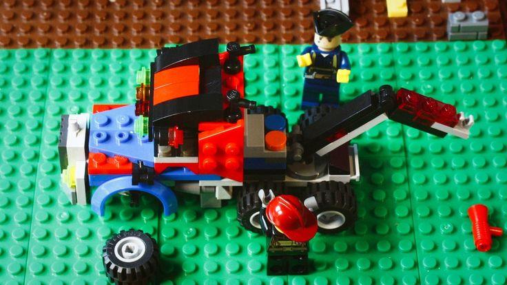 Lego Przyjaciele - budowa ciężarówki (śmieszny film)