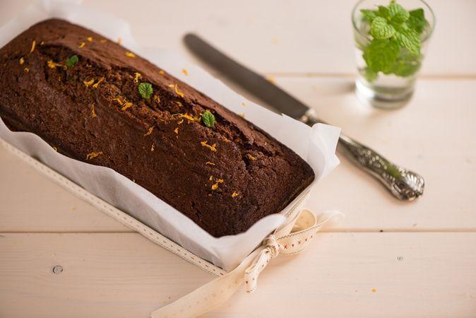Torta integrale al cioccolato e yogurt