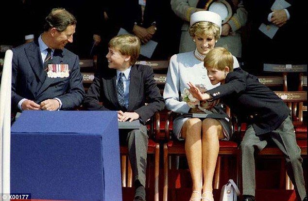 For many people, the real villain was Charles, Junor writes. If he'd loved Diana as he sho...