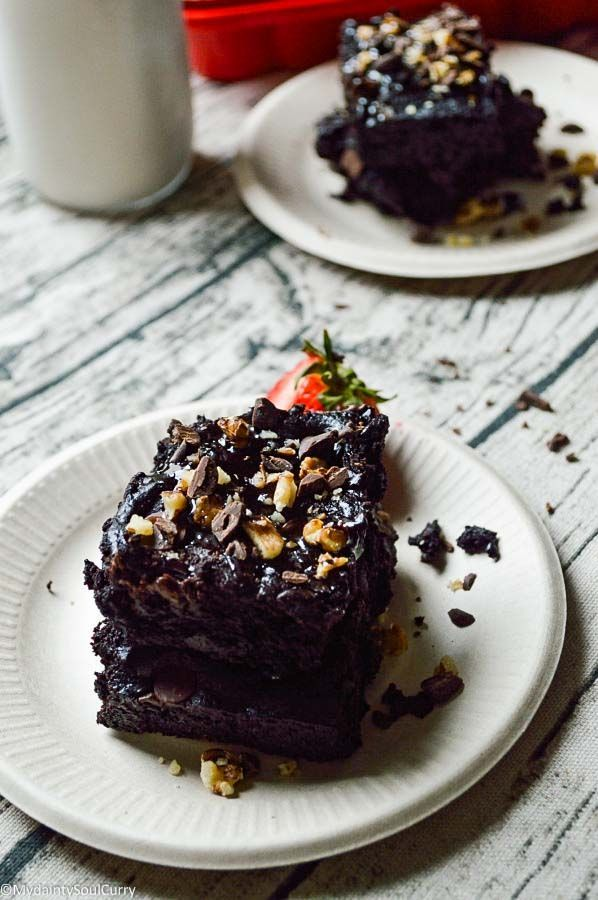 Vegan Gluten Free Chocolate Brownie