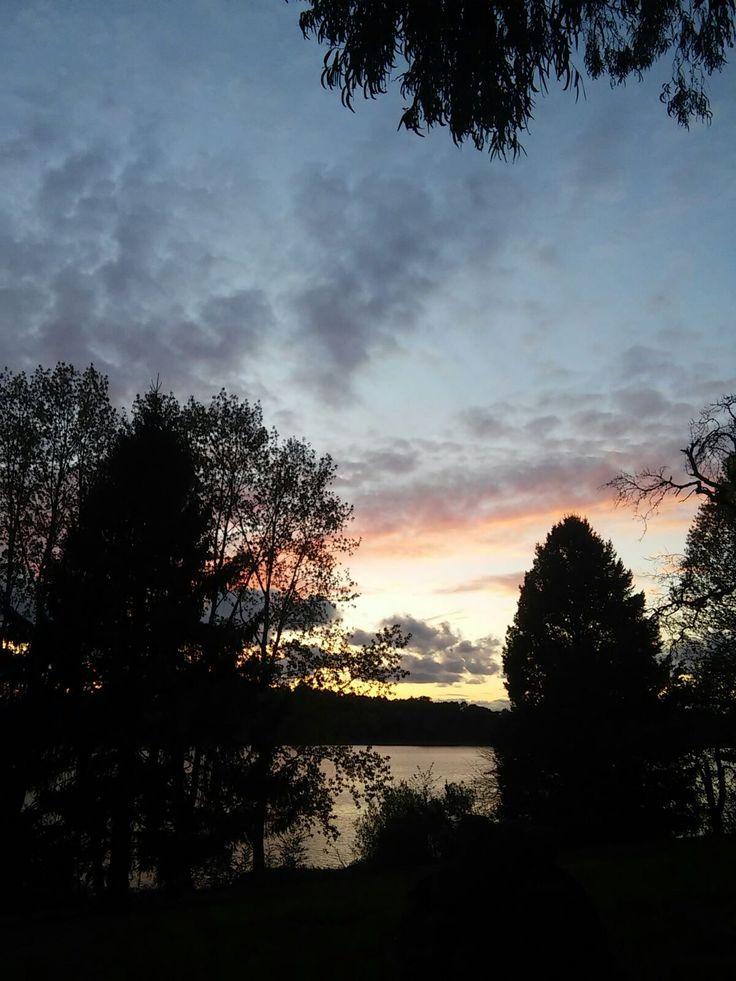 Pazo de Orto sunset.