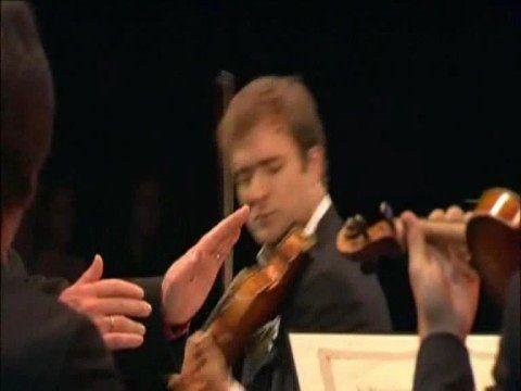 Renaud Capucon plays Bach violin concerto at the 2008 Verbier Festival
