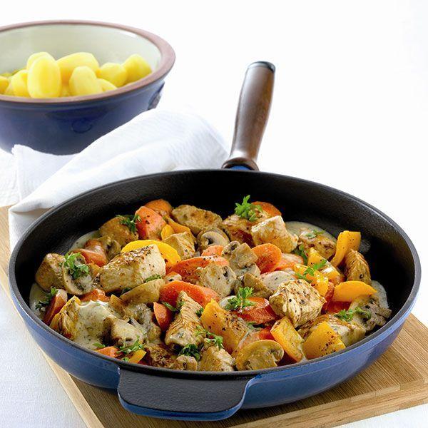 Pannetje met kalkoen en groenten Recept   Weight Watchers Nederland