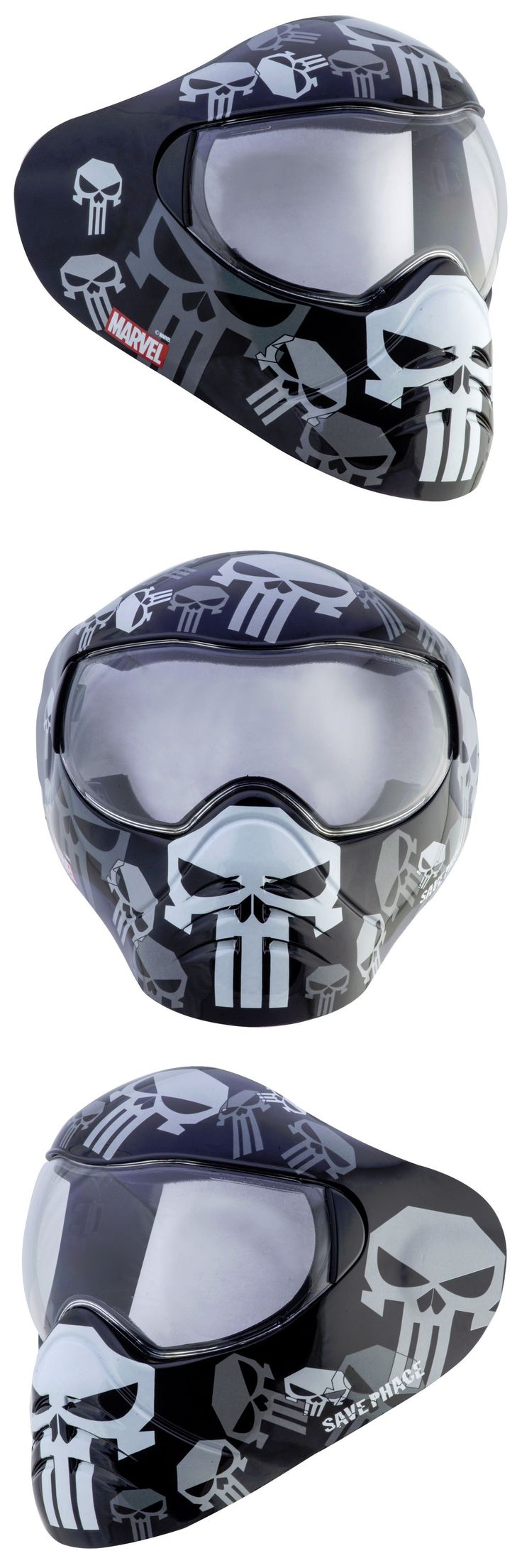 Hats and Helmets 159148: New Save Phace Marvel Avengers Series Sum2 Sports Utility Goggles Mask Punisher BUY IT NOW ONLY: $83.49