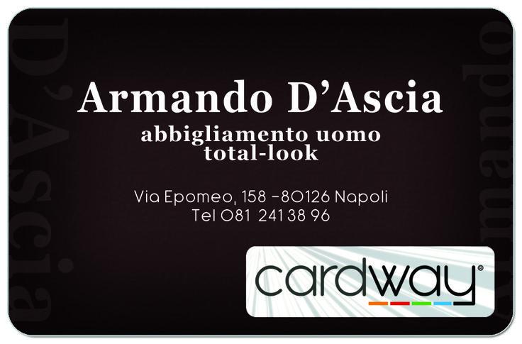 Armando D'Ascia - abbigliamento uomo. Napoli - Via Epomeo n. 158