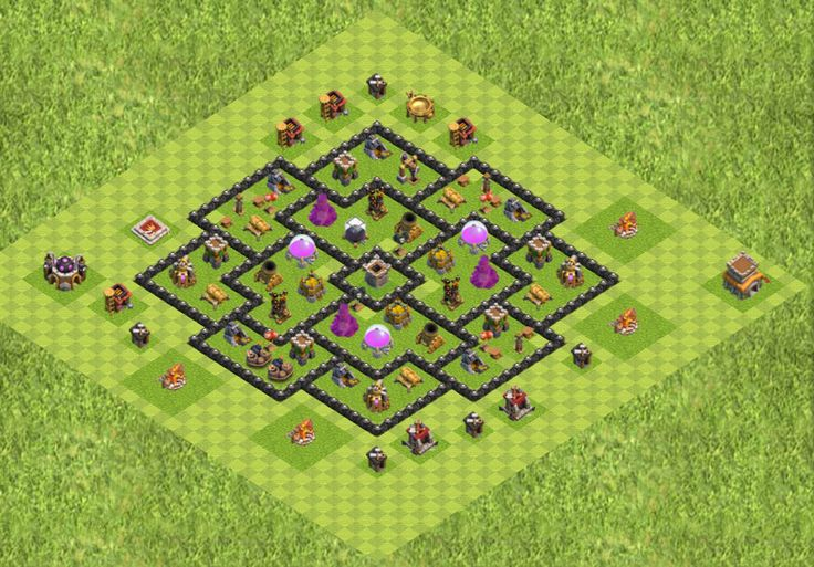 clash of clans bases para guerra