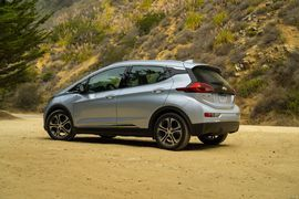 2017 Chevrolet Bolt EV wins Green Car of the Year     - Roadshow  Enlarge Image  This award will get real interesting as more and more EVs populate the marketplace. Photo by                                            Tim Stevens/Roadshow                                          Even though EVs lost to other types of cars in the past the 2017 Chevrolet Bolt EV just won Green Car Journals Green Car of the Year.  The Chevrolet Bolt EV is an all-electric offering that promises 238 miles of range…