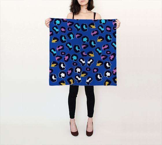 leopard print scarf