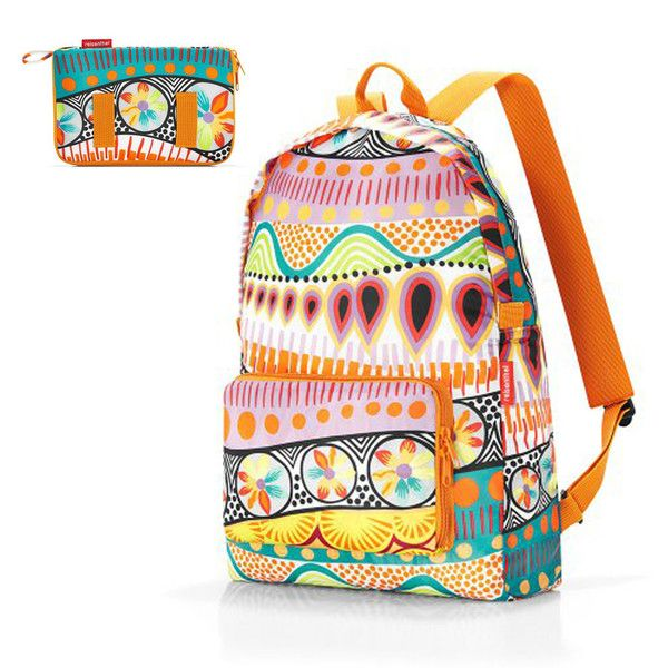 Reisenthel 摺合背囊-lollipop / Reisenthel Foldable Backpack - lollipopReisenthel, the German brand, foldable Backpack is an ideal buddy in your journey, just take it out from your pocket and it helps you lighten your load.  Material: polyester   Holds up to 12.5kg    德國品牌 Reisenthel 摺合背囊出外旅行時的好幫手,買到滿手都是手信時就可從口袋拿出來減輕你的行李負擔。  材質:polyester  可負重 12.5kg       #bag #zakka #gift